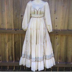 Gunne Sax San Fran Renaissance Dress VTG